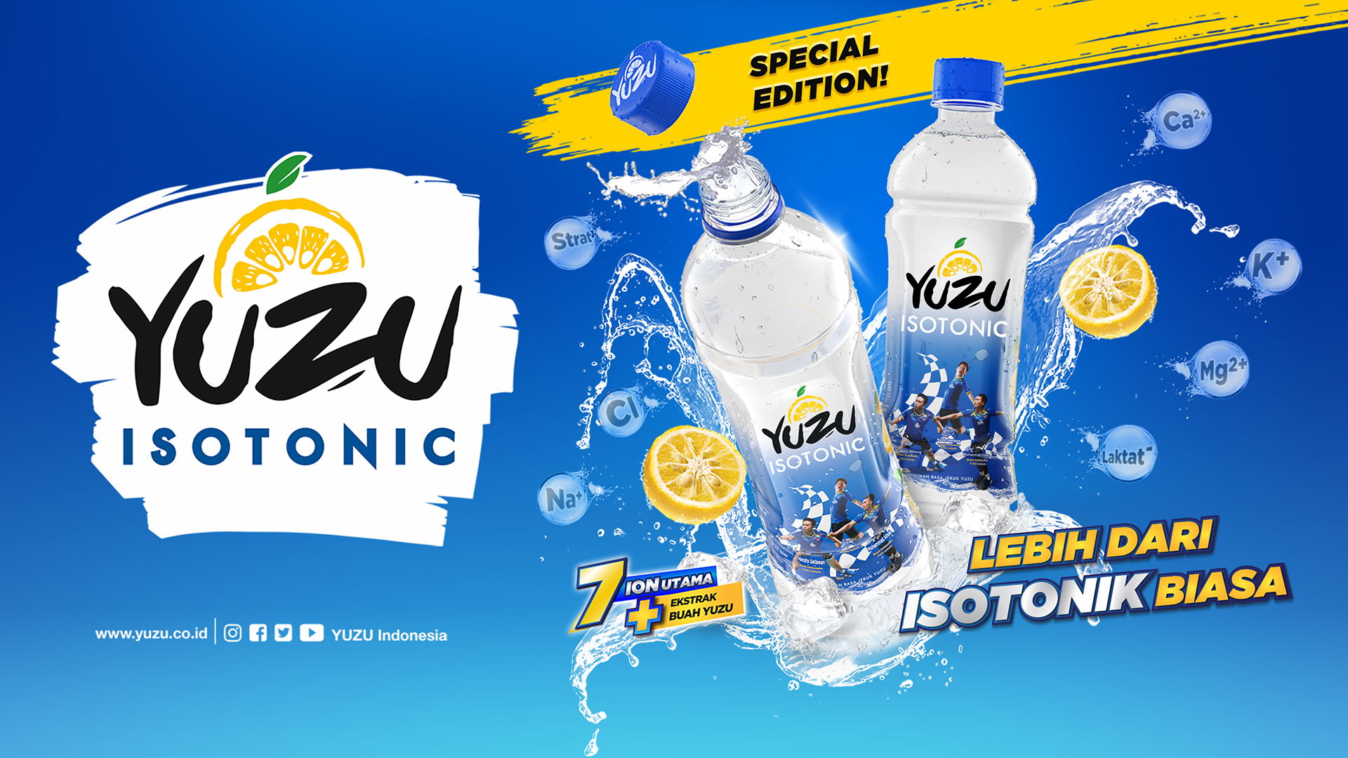 Yuzu Isotonic New Pack