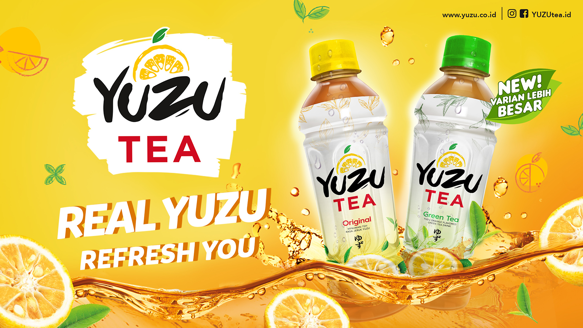 Yuzu Tea New Pack